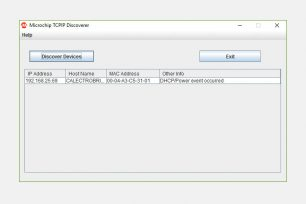 Microchip TCPIP Discoverer